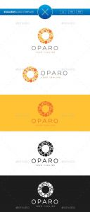 Letter Logo Template - Oparo Letter O Logo Template Vector Eps Ai Illustrator Download