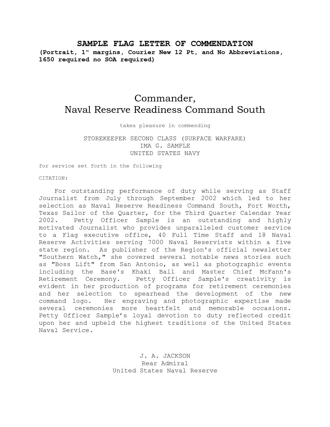 letter of appreciation template example-Sample Naval Letter Format Inspirationa Letter Appreciation Format Navy New Naval Letter Format Image 10-d