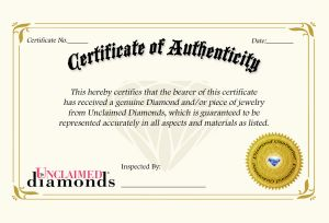 Letter Of Authenticity Template - Diamond Certificate Authenticity Template Brilliant Ideas How to