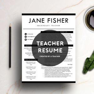 Letter Of Competency Template - A Professionally Designed Teacher Resume Template Created by A