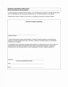 Letter Of Creditable Coverage Template - Sample Proof Health Insurance Letter Fresh Sample Certificate