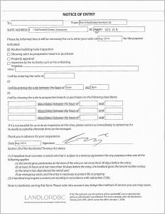 Letter Of Eviction Template - Lease Eviction Letter Pleasant Eviction Notice Template Nc Notice to
