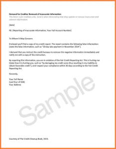 Letter Of Explanation for Credit Inquiries Template - How to Remove Inquiries From Credit Report Sample Letter