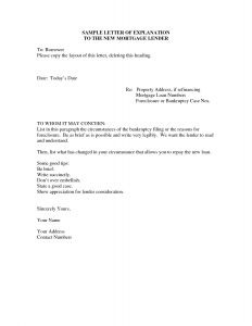 Letter Of Explanation for Credit Inquiries Template - Letter Explanation for Credit Inquiries Template Examples