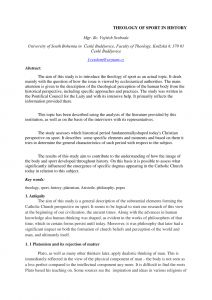 Letter Of Freedom to Marry Catholic Church Template - Pdf theology Of Sport In History