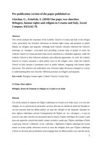 Letter Of Freedom to Marry Catholic Church Template - Pdf Church and State In Croatia Legal Framework Religious
