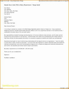Letter Of Good Standing Template - Salary Verification Letter Template Collection