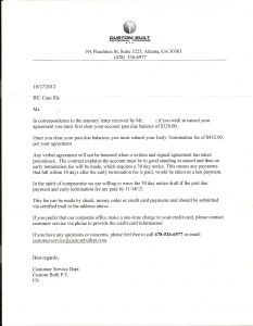 Letter Of Good Standing Template - Demand Letter to Landlord Template Collection