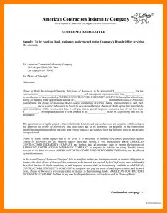 Letter Of Indemnification Template - Construction Indemnity Agreement Lovely 19 Luxury Indemnity