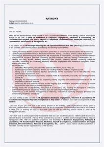 Letter Of Intent for A Job Template - Letter Intent Vorlage