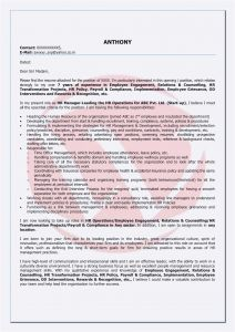 Letter Of Intent for Employment Template - Letter Intent Vorlage