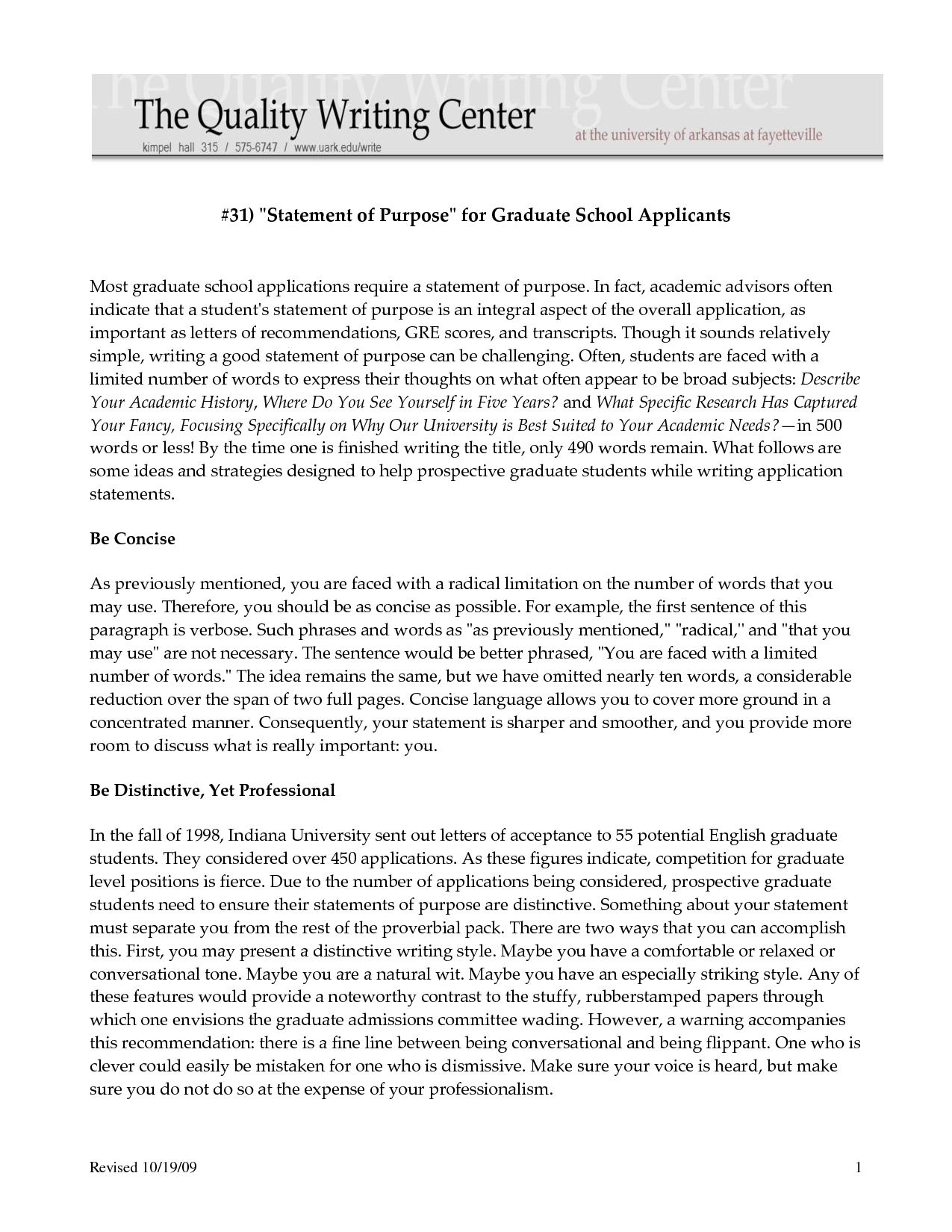 letter of intent for graduate school template example-Sample Personal Statements Graduate School 1-d