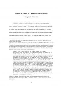 Letter Of Intent Real Estate Template - Mercial Real Estate Lease Letter Intent Template Gallery