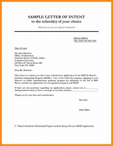 Letter Of Intent Startup Template - Letter Intent Samples Valid Actor Letter Intent Template Examples