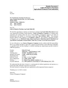 Letter Of Intent to Purchase Business Template - Letter Intent to Sell A Business Template Simple Letter Intent to
