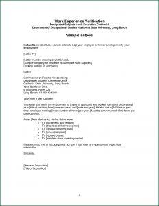 Letter Of Last Instruction Template - Sample Employee Fer Letter Template Sample