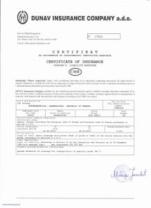 Letter Of Protection Template - Transport Proposal Template Beautiful Certificate Insurance Template