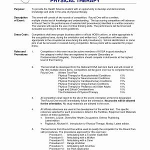 Letter Of Recommendation for Physical therapy School Template - 35 Elegant Sample Physical therapy Resume J0q
