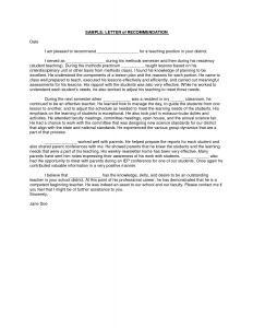 Letter Of Recommendation for Residency Template - Letter Re Mendation for Residency Re Mendation Letter Template