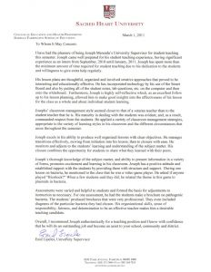 Letter Of Recommendation for Substitute Teacher Template - Sample Letter Re Mendation for Substitute Teacher Position