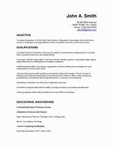 Letter Of Recommendation Template - 46 Inspirational Resume Reference Template