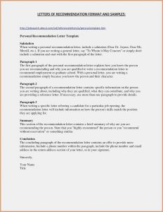 Letter Of Recommendation Template - Fresh Letter Re Mendation for Graduate School Template