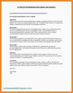 "Letter Of Recommendation Template for Graduate School - Letter Re Mendation for Graduate School Example ¢â""¢ 32 Sample"