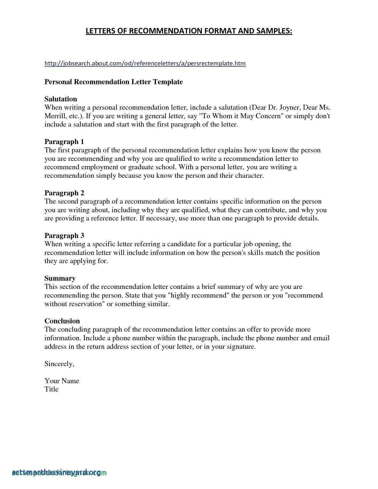 letter of recommendation template for graduate school Collection-Re mendation Letter Sample For Graduate School From Friend New Re Mendation Letter For Scholarship From Employer Unique Fresh 1-s