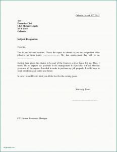 Letter Of Resignation Free Template - Template Letters Resignation Examples formal Letters Beautiful 5