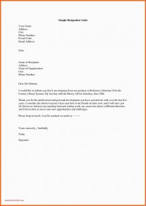 Letter Of Resignation Nursing Template - 47 Examples Resignation Free Resume Template