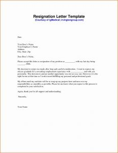 Letter Of Resignation Template Free - Free Samples Resumes Beautiful Lovely Pr Resume Template Elegant