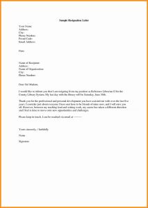 Letter Of Resignation Template Free - Free Construction Letter Transmittal Template Samples