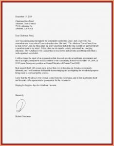 Letter Of Resignation Template Pdf - formal Resignation Letter Sample with Notice Period Pdf format