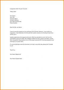 Letter Of Resignation Template Pdf - Example Letter Resignation Hostile Work Environment Fresh