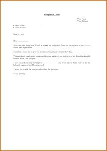 Letter Of Resignation Template Pdf - How to Make A Resignation Letter with Reason New Letter Resignation