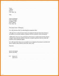 Letter Of Resignation Template Teacher - How Do You Write A Letter Resignation Uk New 43 Examples