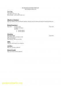 Letter Of Responsibility Template - 37 Inspirational Server Responsibilities Resume