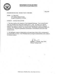Letter Of Submittal Template - Letter Reprimand Air force Air force Letter Template Template