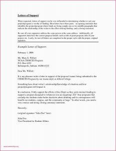 Letter Of Support for Medicaid Template - Letter Support Example for Medicaid Cover Letter Resume Sample