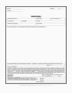 Letter Of Transmittal Template Construction - 20 Best Construction Proposal Download
