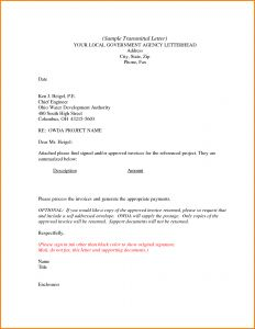 Letter Of Transmittal Template Doc - Letter Transmittal Template Doc Examples