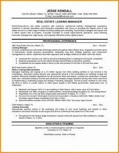 Letter Of Understanding Template - Letter Intent Awesome Sample Resume for Property Manager Bsw