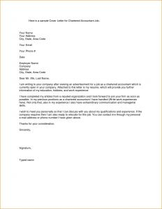 Letter Of Wishes Template - Cover Letter Template Accounting Collection