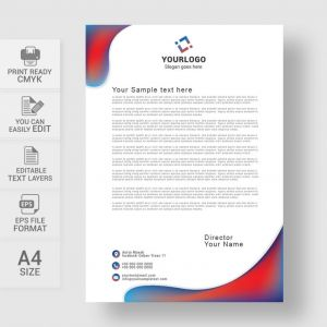 Letter Pad Design Template - Business Letterhead Design Templates Valid Best Corporate Letterhead