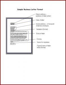 Letter Template for Window Envelopes - Business Letter Layout Archives Nineseventyfve