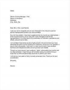 Letter to Legislator Template - Example Open Letter to Congressman