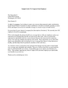 Letter to Legislator Template - Example Open Letter to Congressman