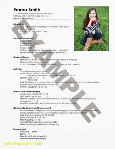 Letter to Parent Template - Happy Birthday Mom Letter Awesome Resume Class Fresh New Entry Level