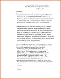 Letter to Parents From Teacher Template - Teacher Introduction Letter to Parents Sample All About Sample