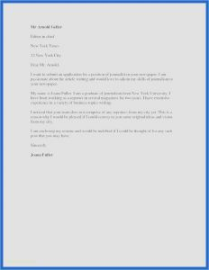 Letter to the Editor Template for Students - 26 Free How to Write A Cover Letter for Employment New